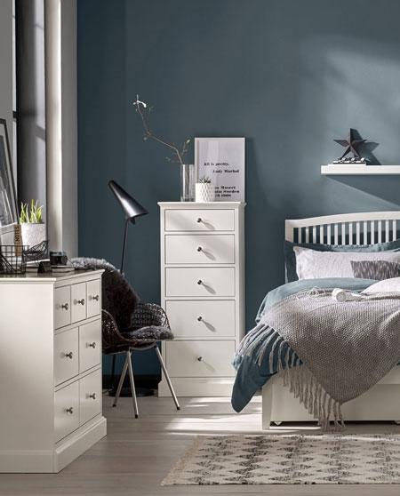 Bentley Designs Ashenby White Bedroom Furniture