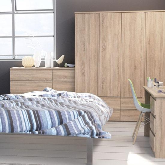 Avenue Truffle Oak Bedroom Furniture.