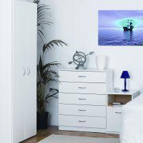 Budget White Bedroom Furniture.