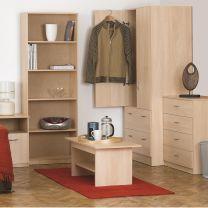 Budget Woodgrain Bedroom Furniture.