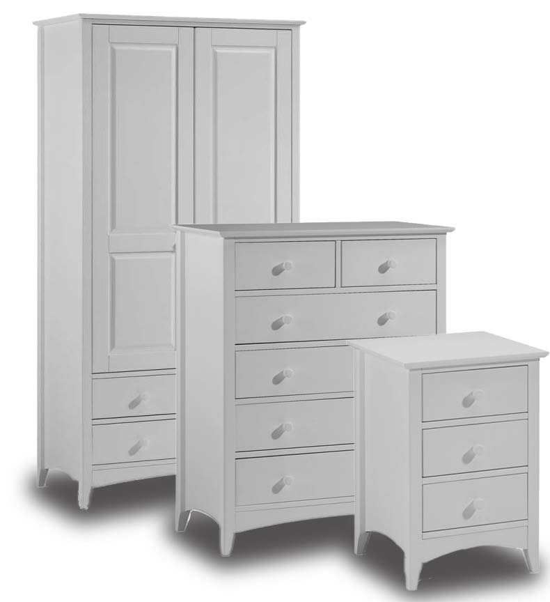 Cambell Grey Bedroom Furniture. From £149.