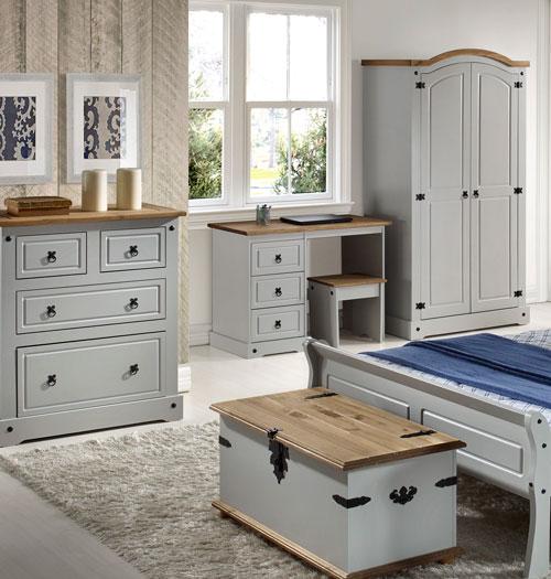 Corona Grey Bedroom Furniture.