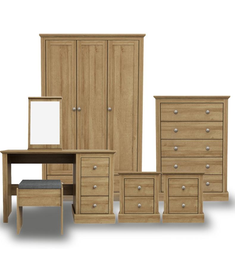 Dawlish Oak Bedroom Furniture