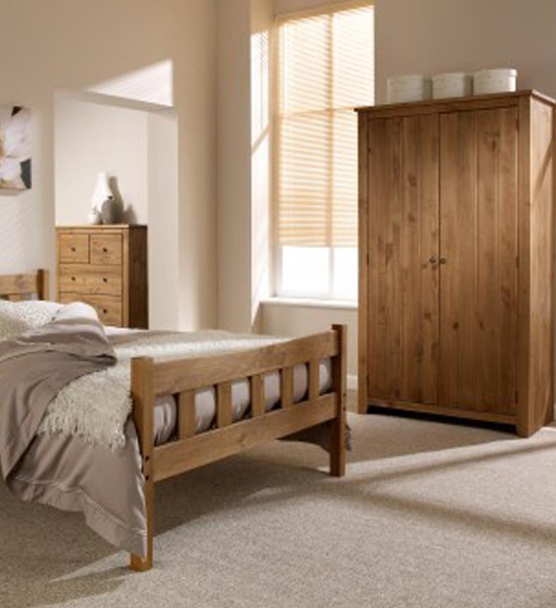 Havana Rustic Pine Bedroom Furniture