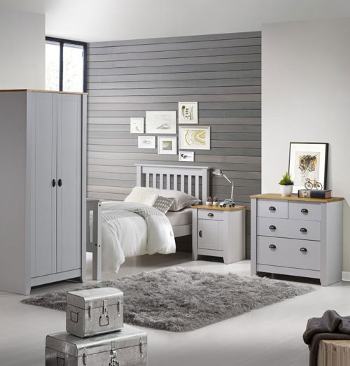 London Grey Bedroom Furniture.