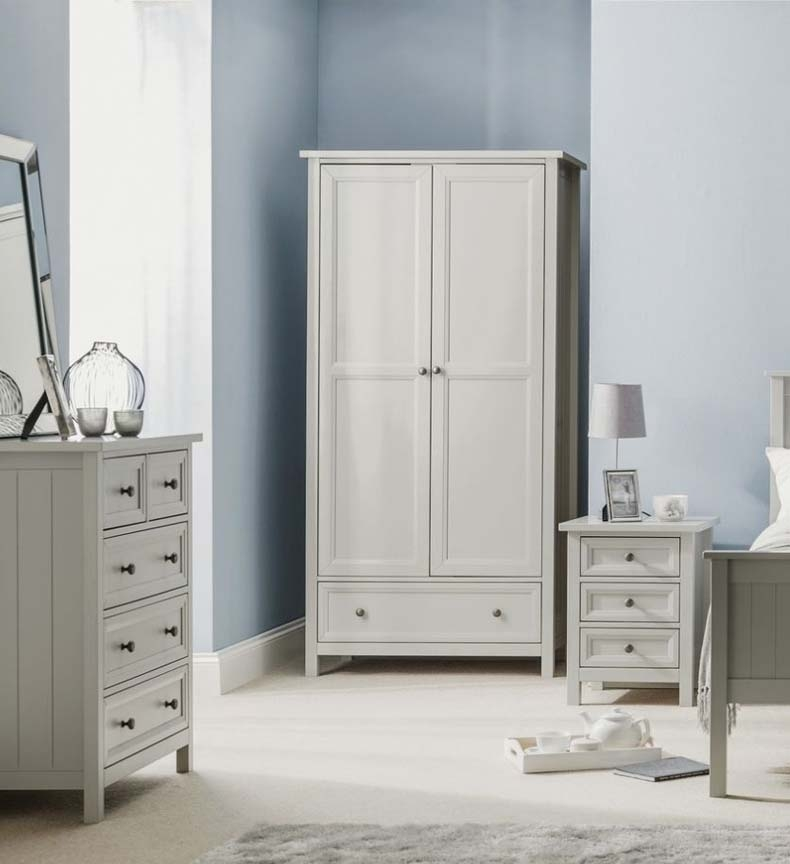 Malvern Dove Grey Bedroom Furniture. From £89.