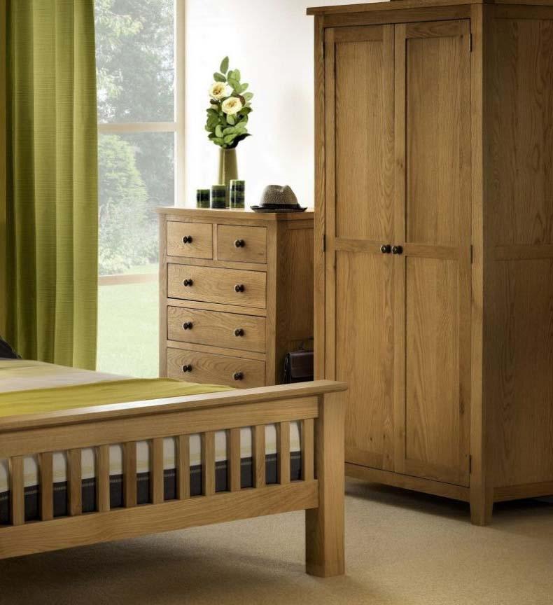 Marlowe Oak Bedroom Furniture. From £79.