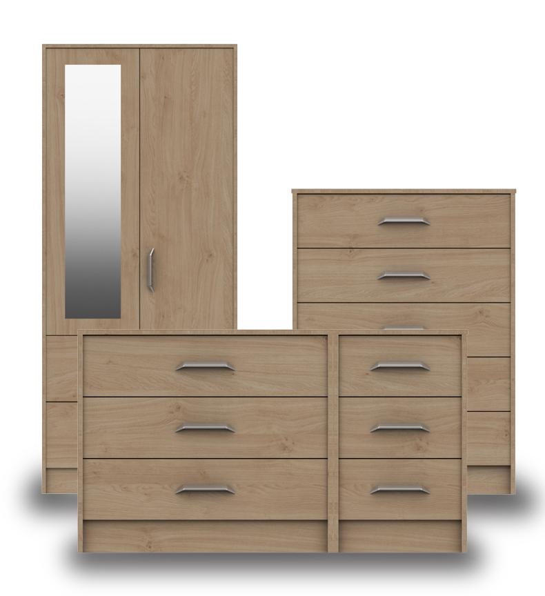 Marston Oak Bedroom Furniture. From £99.