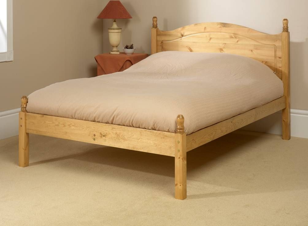Orlando Low Foot End Double Bed Frame