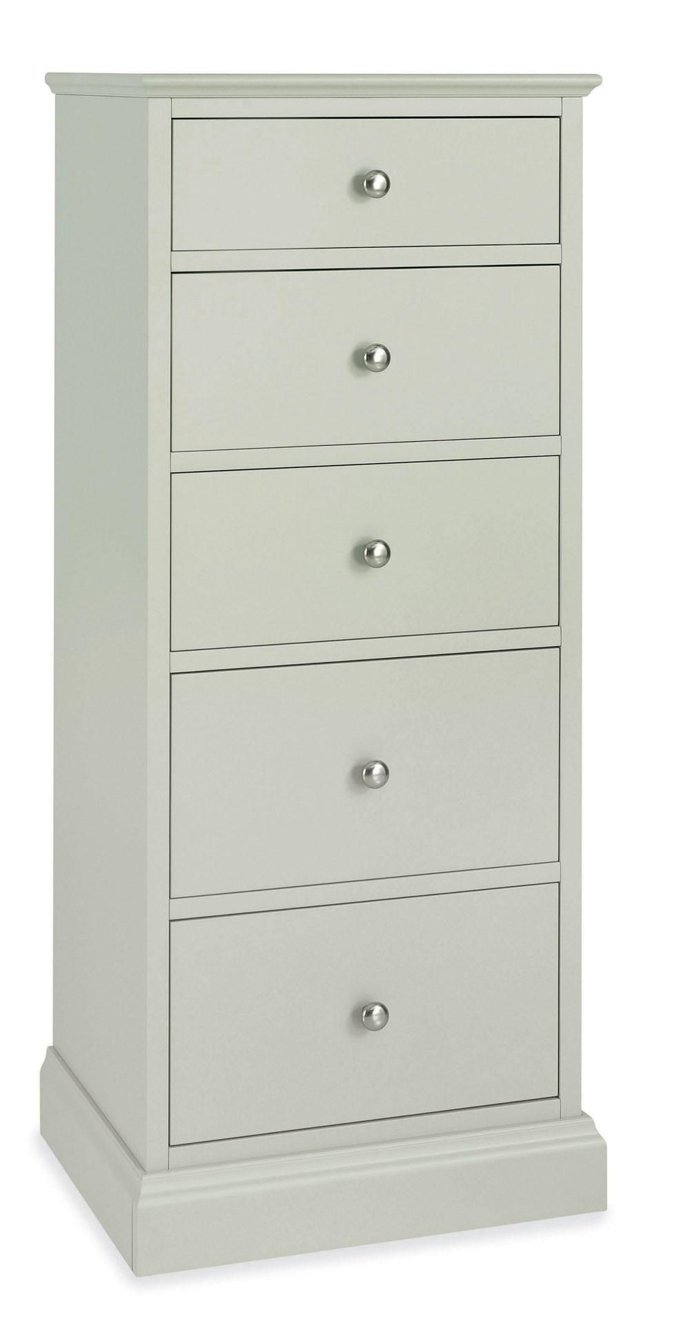 Ashenby Cotton 5 Drawer Tall Chest