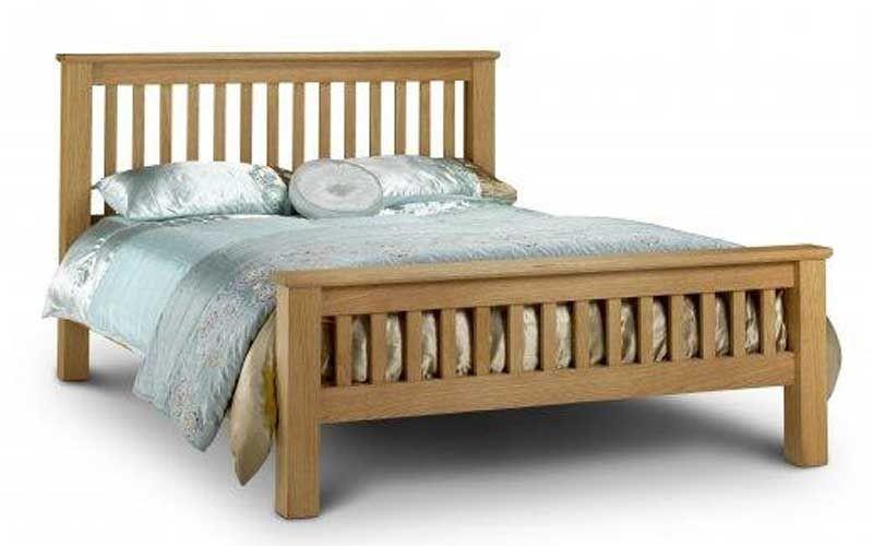 Amsterdam Oak Double Bed Frame