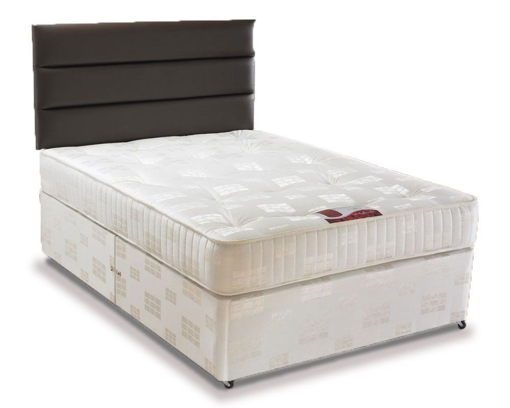 Angelina Double 4 Drawer Divan Bed