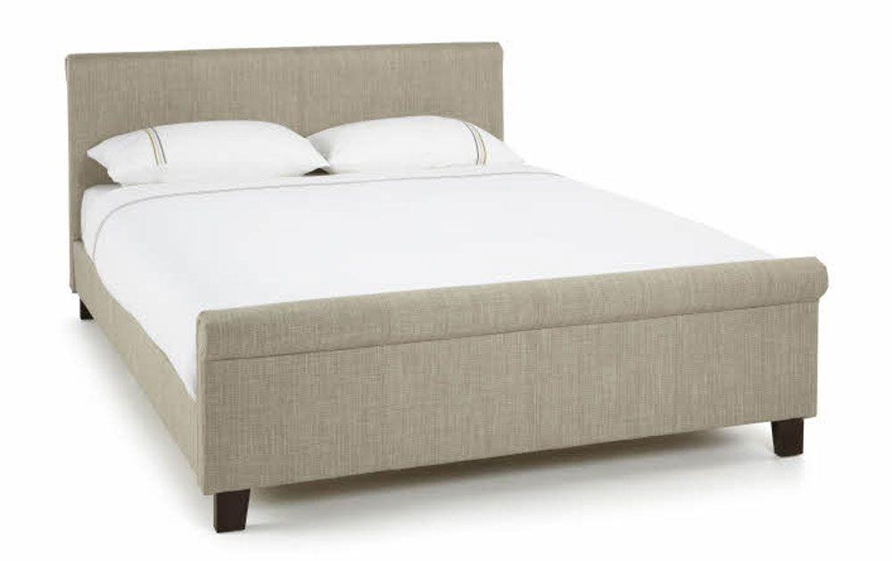 Hansel Linen Kingsize Bed Frame
