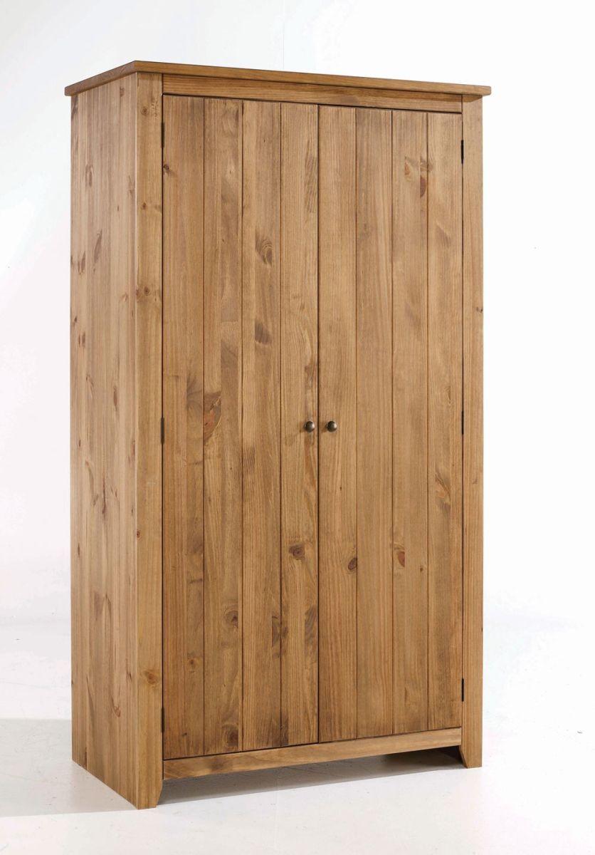 Havana Rustic Pine 2 Door Robe