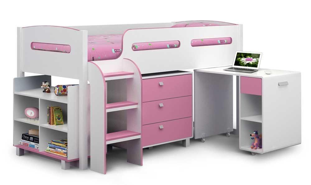 Kelvin Cabin Bed In Pink