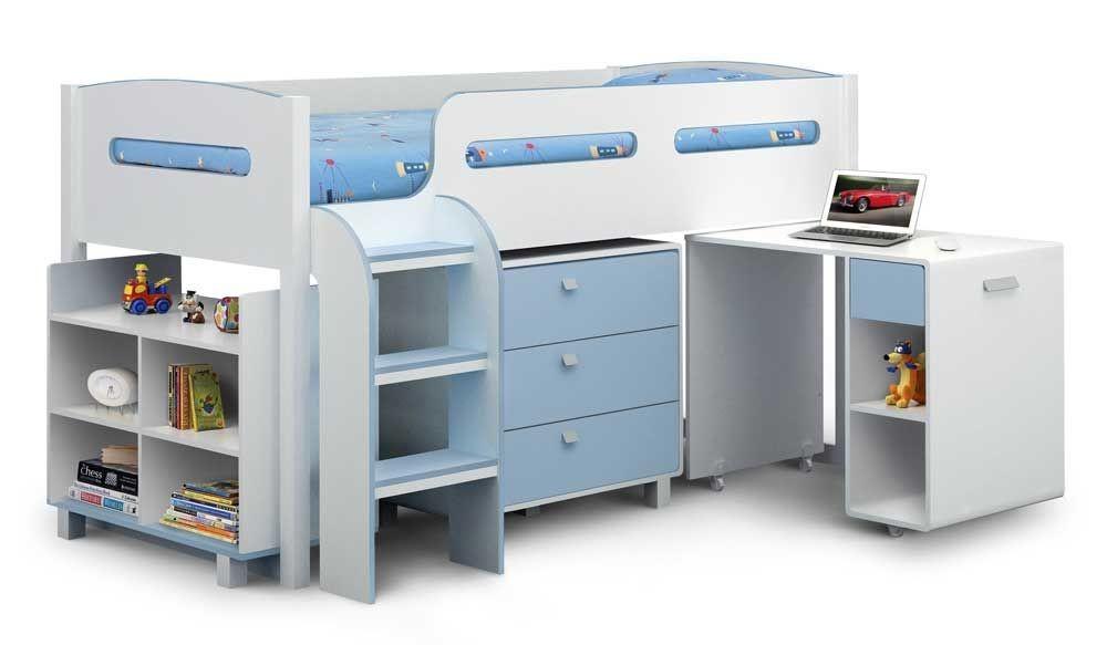 Kelvin Cabin Bed In Blue