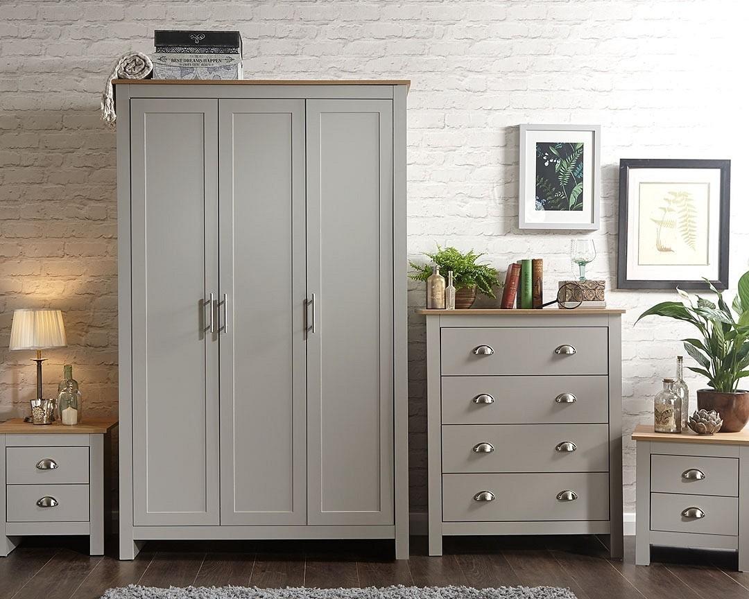 Lancashire Grey Bedroom Furniture