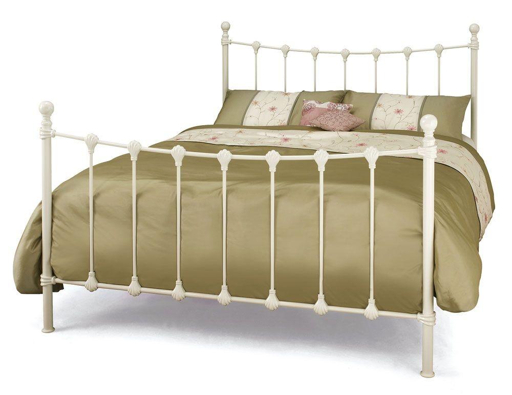 Marseilles Ivory Super Kingsize Bed Frame