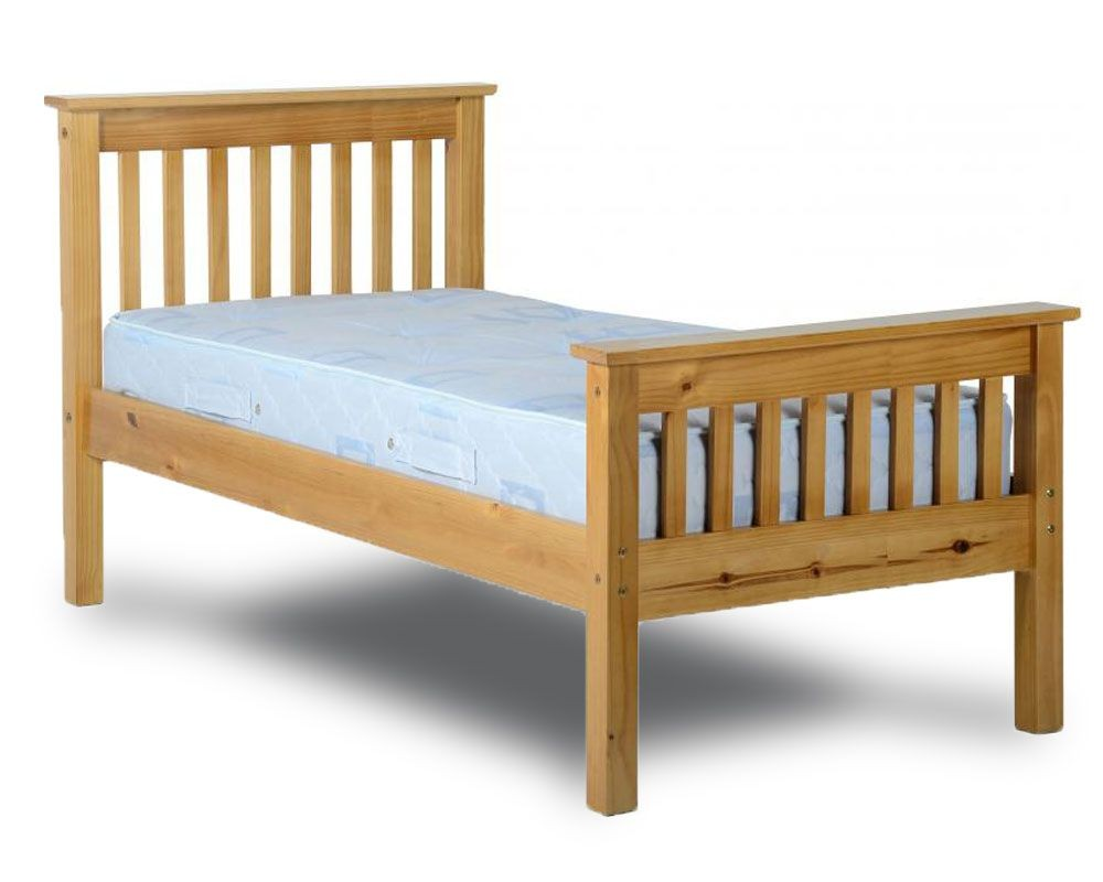 Monty High Foot Single Bed Frame