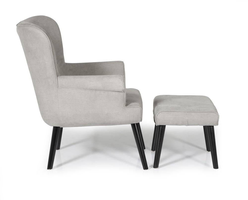 Soft Grey Oban Occasional Chair