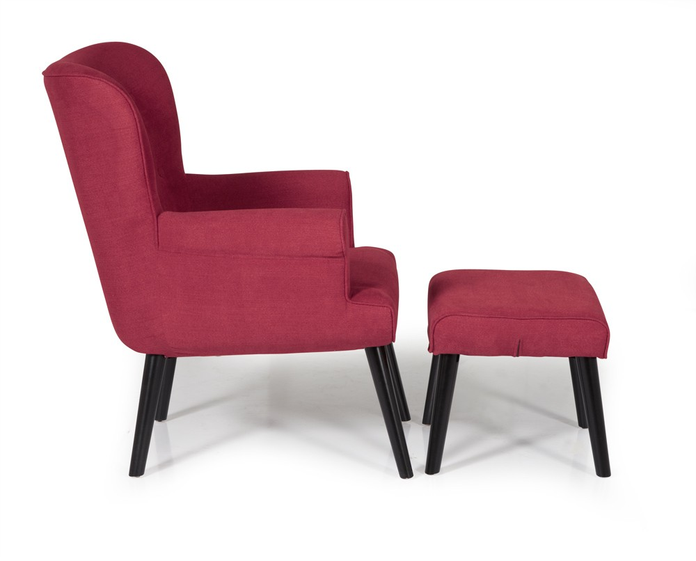Red Oban Occasional Chair