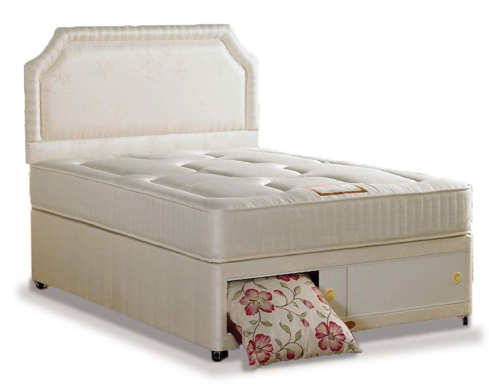 Onyx Luxury Double End Slidestore Divan Bed