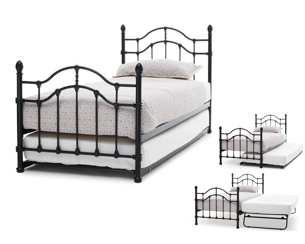 Parisienne Black Guest Bed Frame