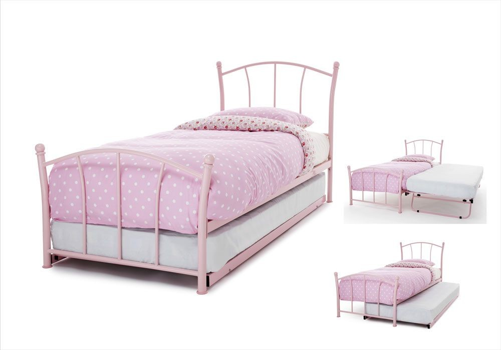 Penny Pink Guest Bed Frame