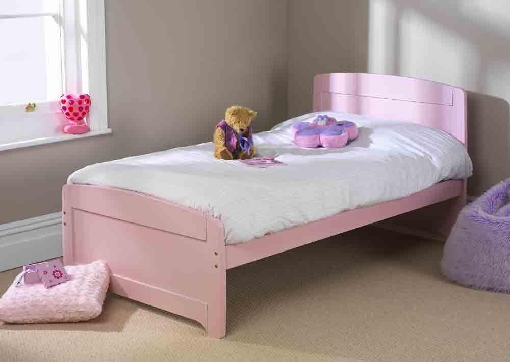 Rainbow Pink Single Bed Frame