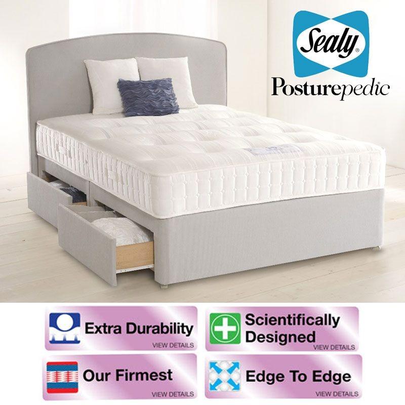 Sealy Royal Jubilee Ortho Super Kingsize 4 Drawer Bed