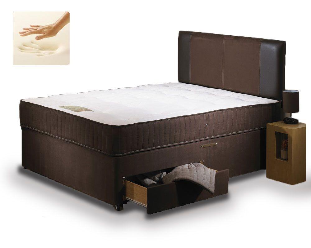 Special Memory Super Kingsize 4 Drawer Divan Bed