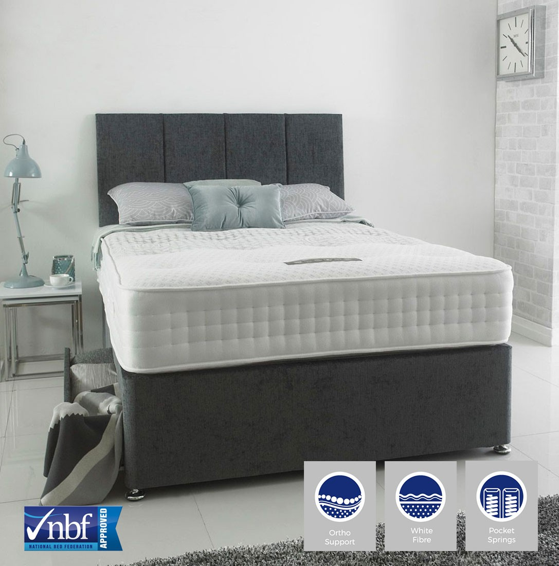 Stratus 1000 Ortho Divan Bed