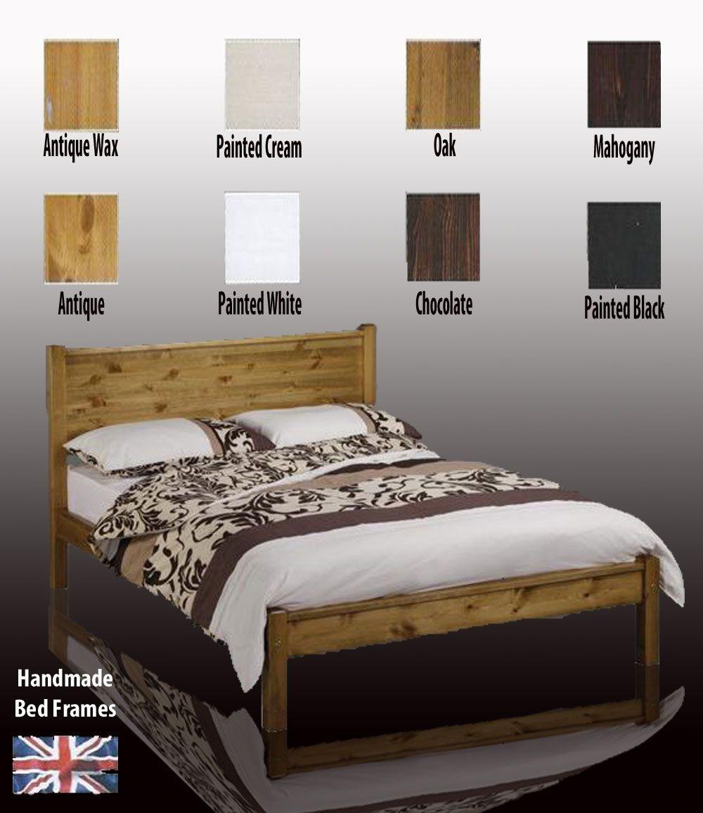Sutton Handcrafted Super Kingsize Bed Frame