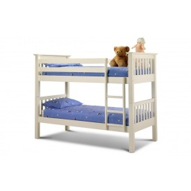 Baryon Stone White Bunk Bed