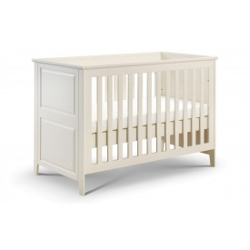 Cambell Stone White Cot Bed