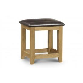 Marlowe Oak Dressing Table Stool