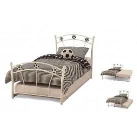 Soccer White Guest Bed Frame