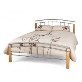 Tetras Silver Double Bed Frame