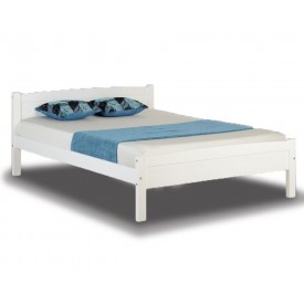 Ambrose White Double Bed Frame