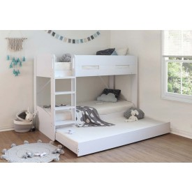 White William Bunk With Trundle