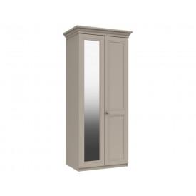 Cambridge Clay 2 Door Wardrobe With Mirror
