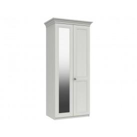 Cambridge White 2 Door Wardrobe With Mirror