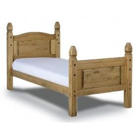 Corona High Foot Single Bed Frame