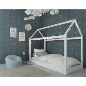 Hickory House White Bed Frame