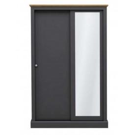 Dawlish Charcoal 2 Sliding Door Wardrobe