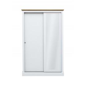 Dawlish White 2 Sliding Door Wardrobe