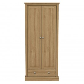 Dawlish Oak 2 Door Wardrobe