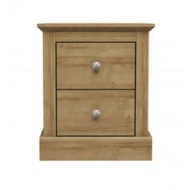 Dawlish Oak Bedside Chest