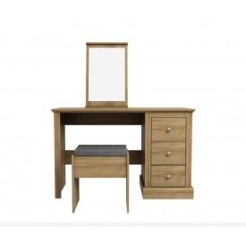 Dawlish Oak Dressing Table Set