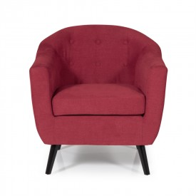 Red Evie Occasional Chair